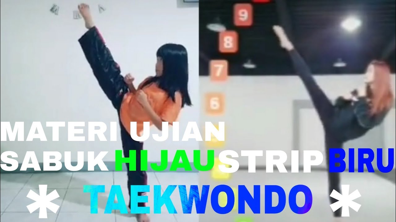 #Cinematicvideo #taekwondocinematic Materi ujian sabuk hijau strip taekwondo