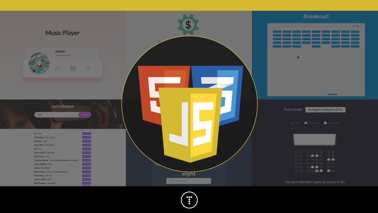 Udemy Course Alert - 20 Web Projects With Vanilla JS