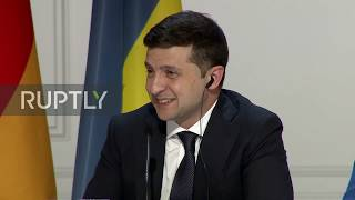 "France: Putin and Zelensky praise ""positive"" meeting and ""thaw"" in relations"