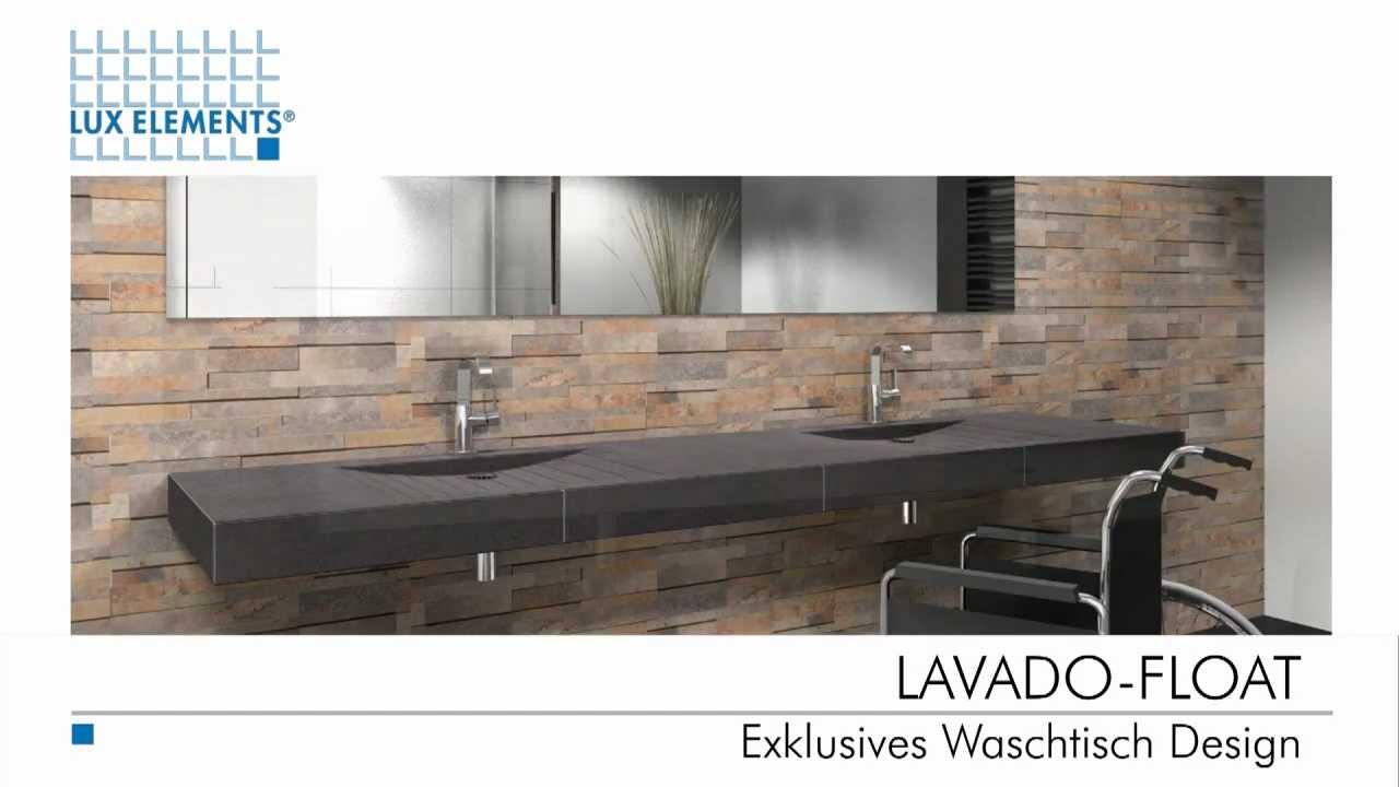 Waschtisch selber bauen bauplatten  LUX ELEMENTS Exklusives Waschtisch Design - YouTube