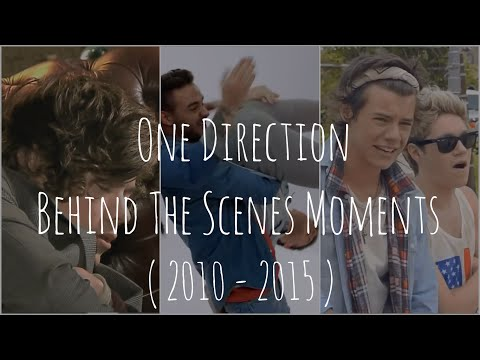One Direction || Behind The Scenes Moments || ( 2010 - 2016 )