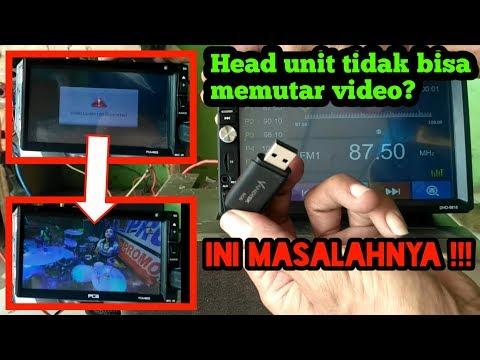 Format Video Dan Cara Memutar Video .mp4 Di Head Unit Mobil Lewat Flaskdisk/usb/sd Card