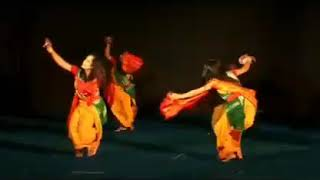 Assam traditional, Bodo folk music with dance...