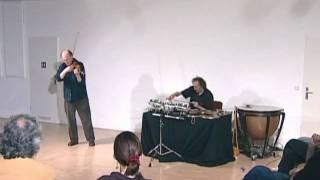 The Duo Malcolm Goldstein - Matthias Kaul