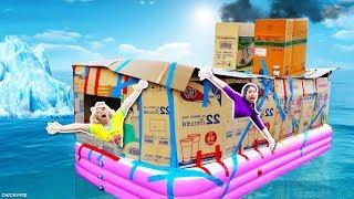 เรือ กล่องกระดาษ ไททานิค 💖 ชิคกี้พาย