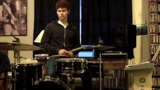 "James Brown :  ""The Funky Drummer"" : Drum Lesson"