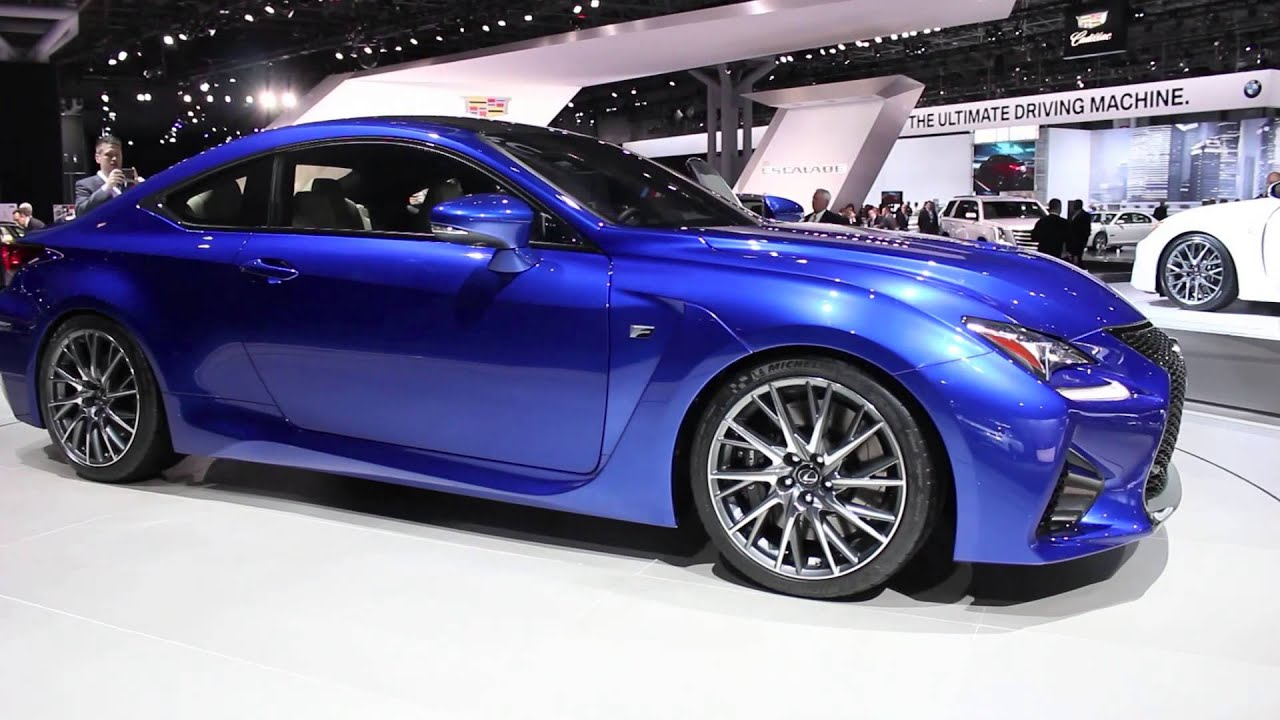 2015 Lexus Rcf And Rc 350 F Sport Walk Around New York
