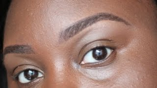 Eyebrows on Fleek! | Perfect Brow Tutorial | Chanel Boateng Thumbnail
