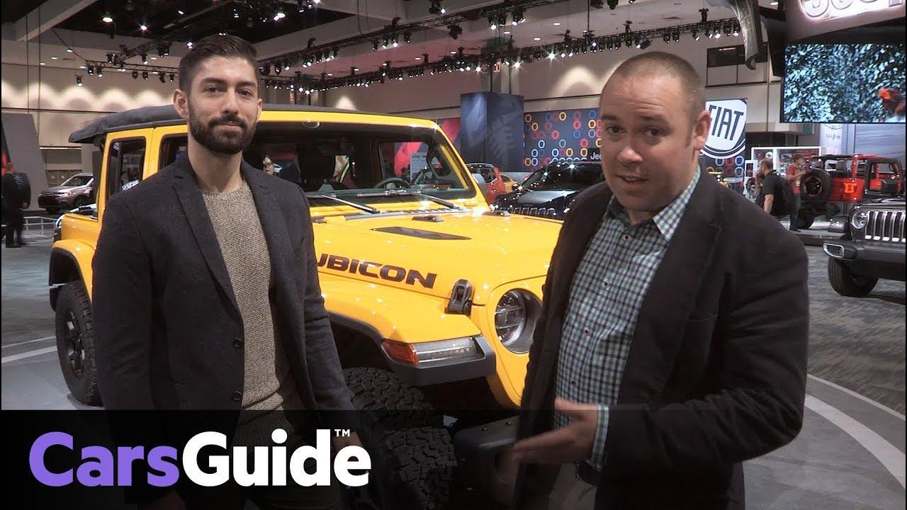 Jeep Wrangler 2018: Walkaround with Senior Designer Steve Goodrich - Dauer: 8 Minuten, 32 Sekunden