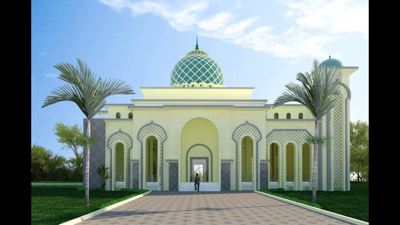 Mosque 3D Model From CGTrader.com