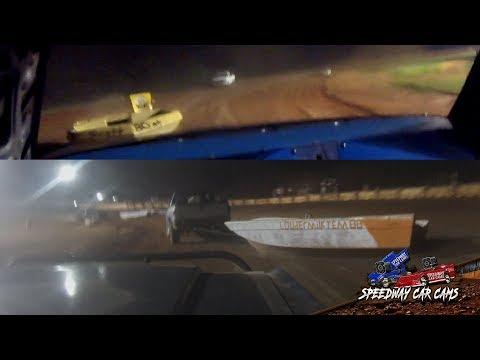 Winner #45 Karen Boe - Waterless Boat Race - 8-11-18 Fort Payne Motor Speedway - In Car Camera
