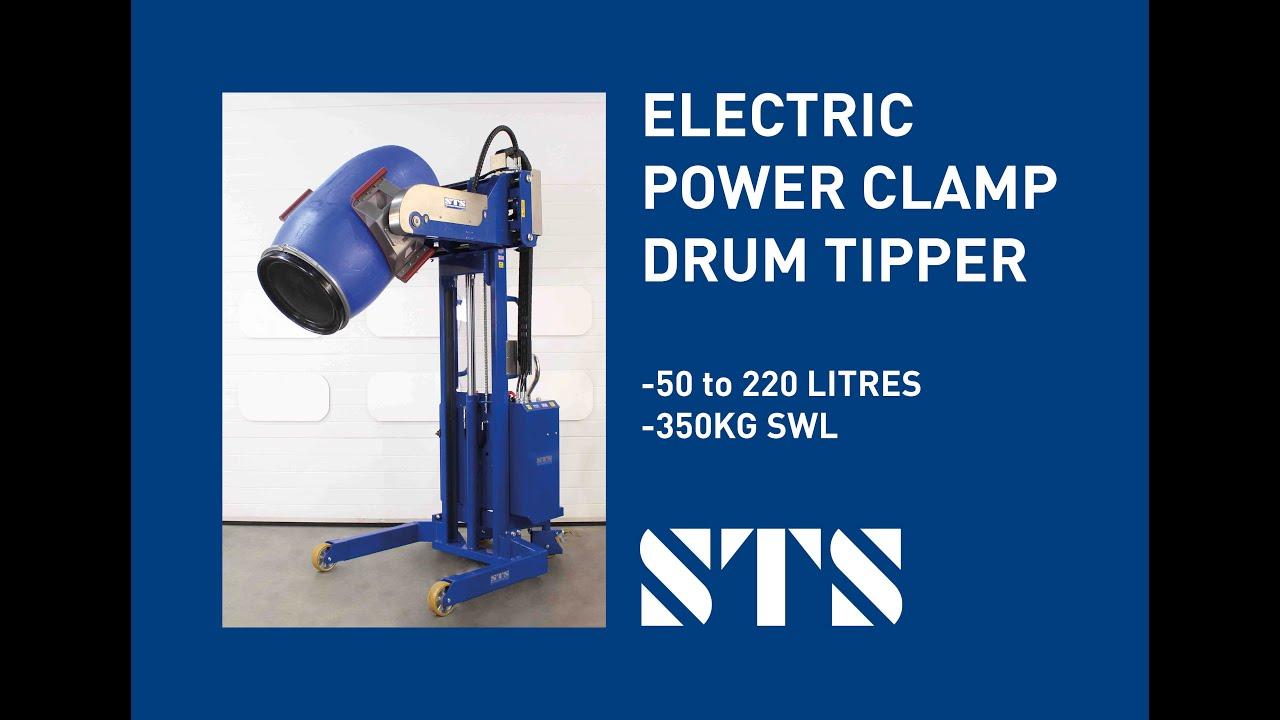 Power Clamp Drum Tipper (Model: STE01-RRH01)