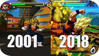 THE Evolution Of Dragon Ball Games 2001-2018