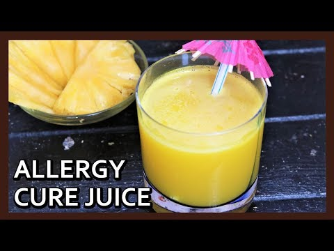 How to make Allergy Cure Juice | Treat all Allergies with this Natural Juice