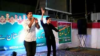 Lak Nu Hilla Waseem Ahmed Bhangra 2018 Live Performance At Model Mart Sargodha