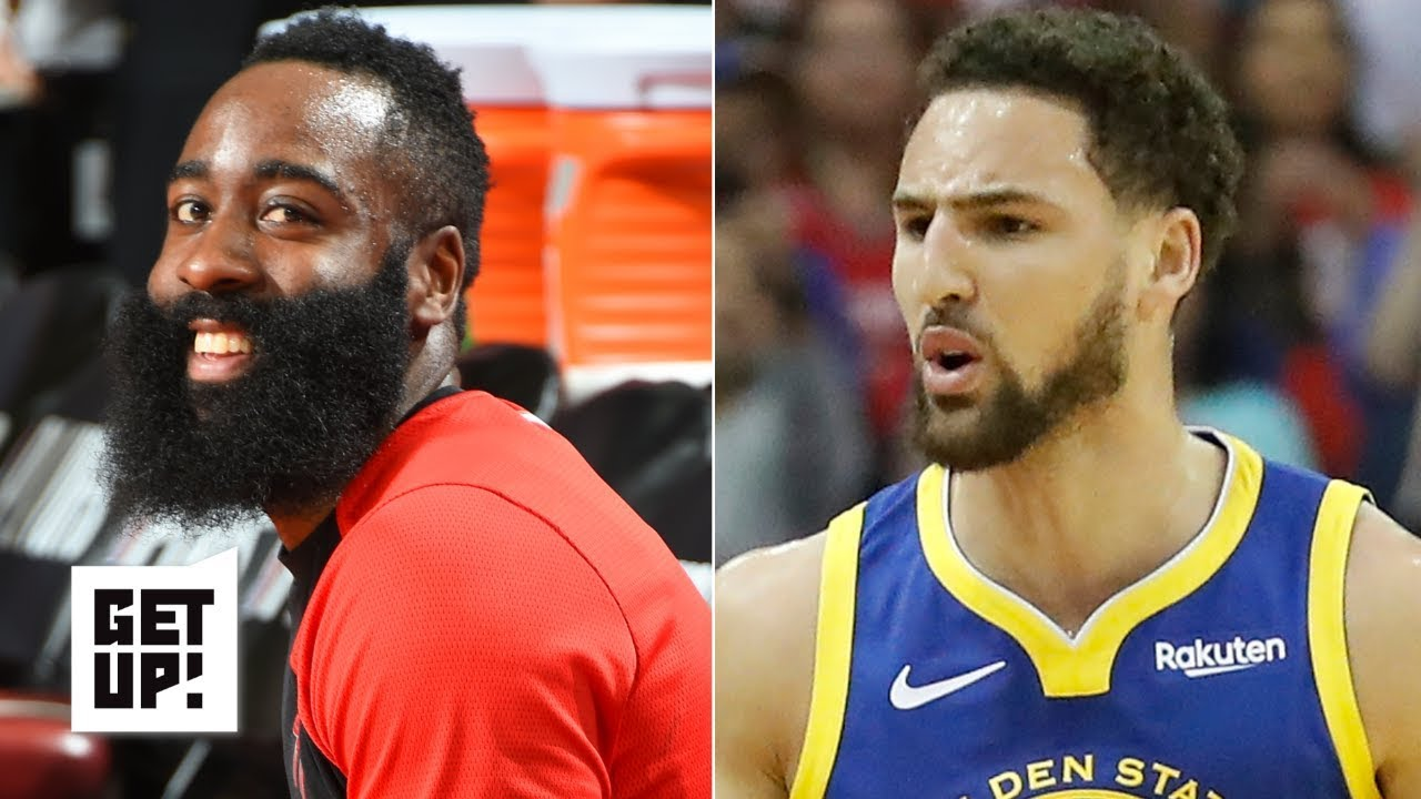 James Harden cooks Klay Thompson, Steph Curry | Get Up!