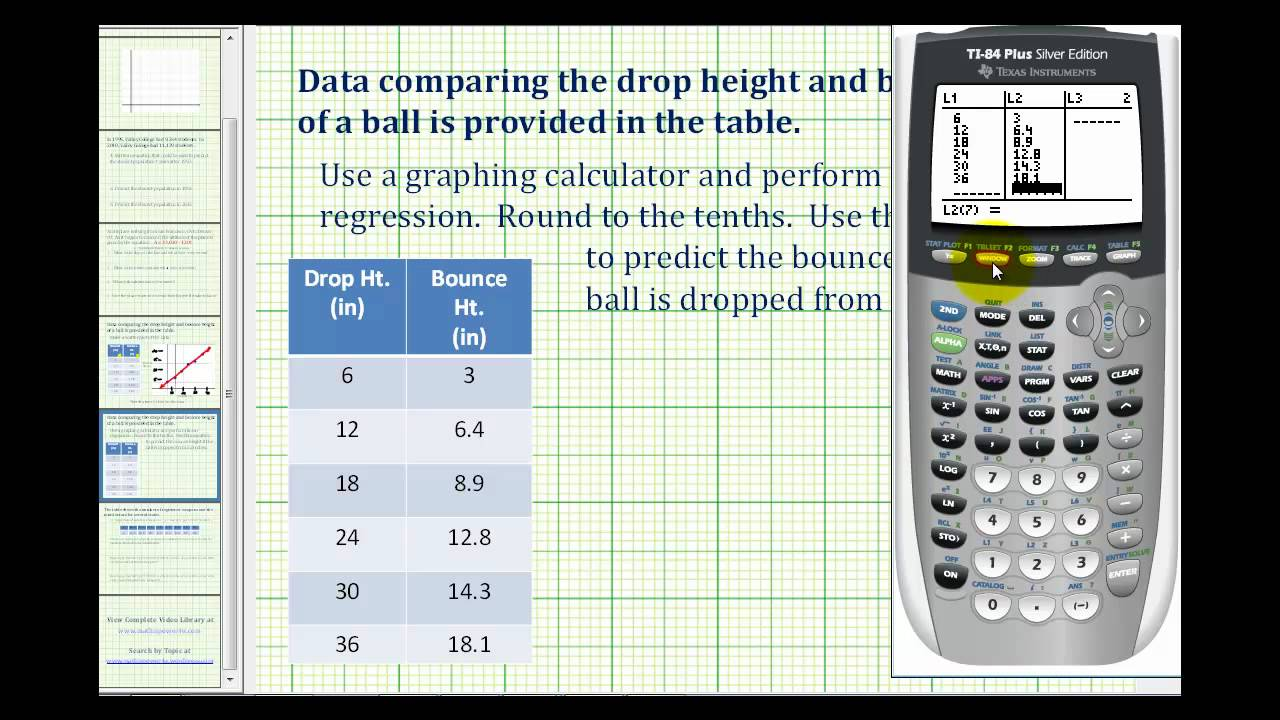 Ex 1  Create A Scatter Plot And Then Perform Linear