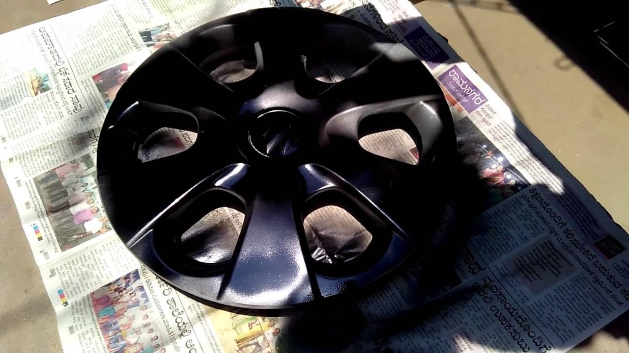 Rial N32 Center Cap Hub Caps Wheel Caps Painted Black Shiney