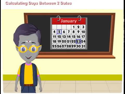 Calculating Days Between Two Dates