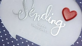 SSS July 2014 Card Kit | Sending Happy Thoughts