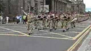 Black Watch marching in to town part 2