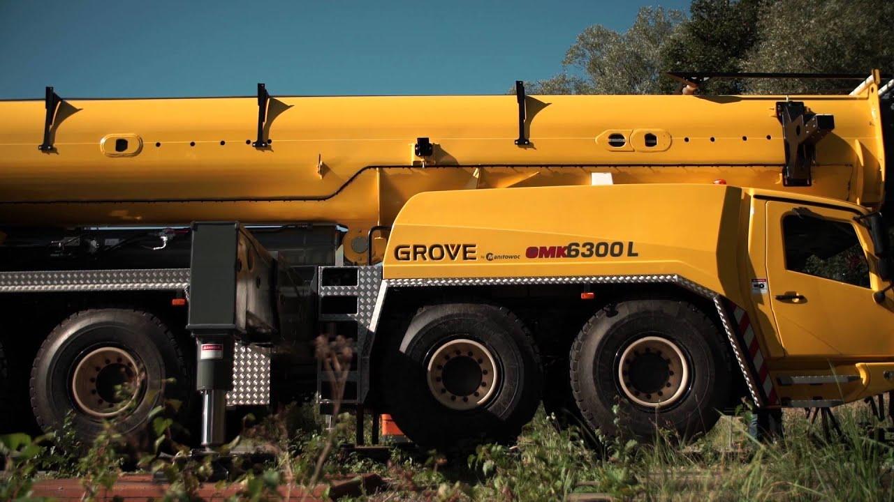 Grove GMK preventive maintenance (Manitowoc Crane Care)
