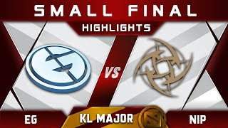 EG vs NiP [EPIC TOP 3] Kuala Lumpur Major KL Major Highlights Dota 2
