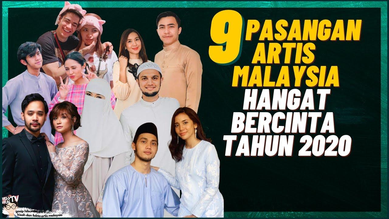 Download 9 Pasangan Artis Malaysia Hangat Bercinta Tahun 2020 (Neelofa, Pu Riz, Syamel, Ernie Zakri)