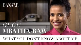 Gugu Mbatha-Raw: What you don't know about me | Bazaar UK