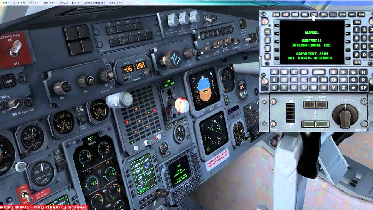 FSX PMDG Jetstream J41 Tutorial 2 0 Part 3: FMC & Payload