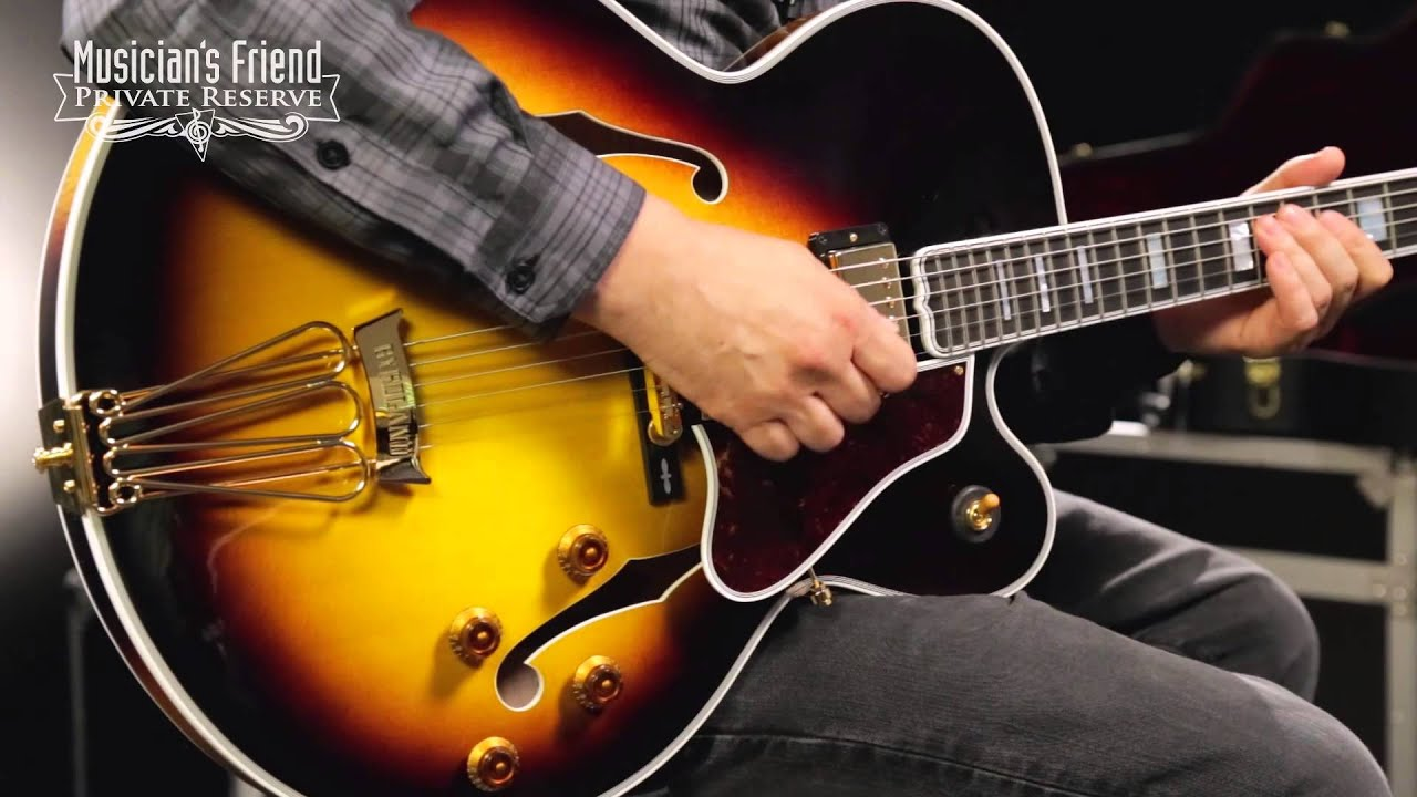 gibson custom gibson byrdland guitar youtube. Black Bedroom Furniture Sets. Home Design Ideas