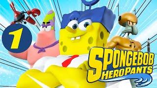Прохождение SpongeBob HeroPants (Часть 1)