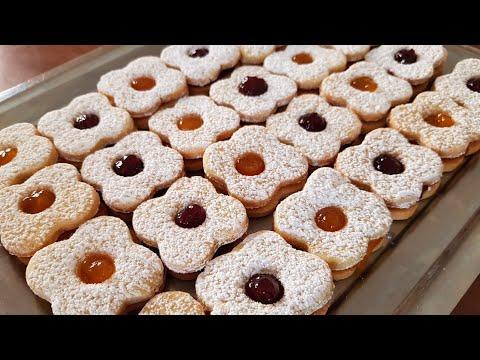 biscottini-morbidi-con-confettura-di-frutta -occhi-di-bue- -pasta-frolla-montersino