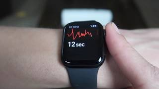 How to use the ECG Feature on Apple Watch Series 5