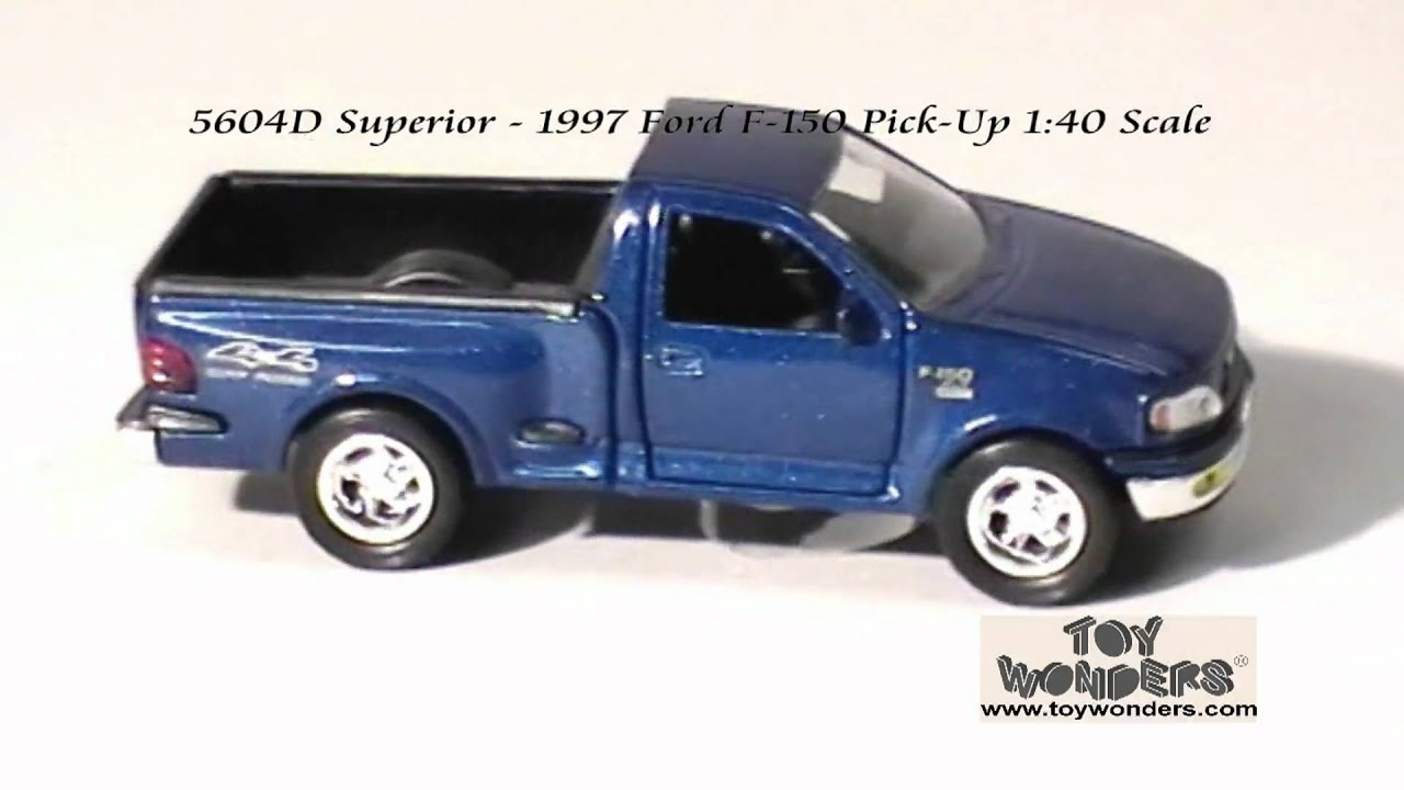 5604d superior 1997 ford f 150 pickup truck 140 diecast wholesale mpg