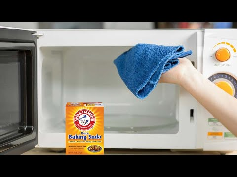 How To Clean Your Microwave with Baking Soda