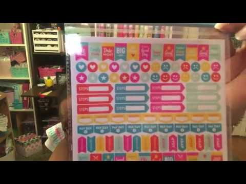 Friday Night Dollar Tree Haul-New Planner Stickers