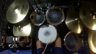 Bullet For My Valentine - The Harder The Heart (Drum Cover) (Studio Quality)