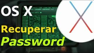 Recuperar Contraseña OS X | MAC