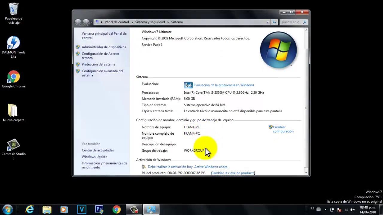 Validar windows 7 ultimate 32 bits para siempre gratis