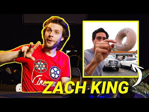 Filmmaker (tries To) EXPLAIN ZACH KING's Editing Magic #02
