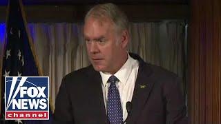 Interior Secretary Ryan Zinke stepping down at end of year