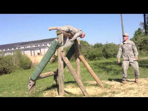 Obstacle Course at Ft. Polk