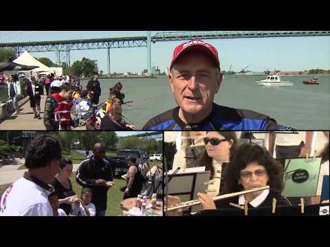 Walleye & White Bass Fishing, Detroit River, Amherstberg, ON