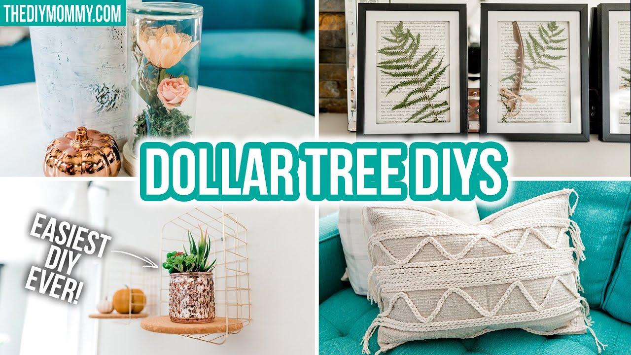 DIY DOLLAR TREE Fall 2020 decor trends for less! 🍂