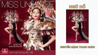 """VOTE FOR """"NGU HO"""" TO BE THE NATIONAL COSTUME FOR VIETNAM AT MISS UNIVERSE 2018"""