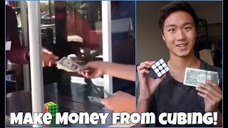 How to Make $100/hr Solving the Rubik's Cube! ft. EZcubing