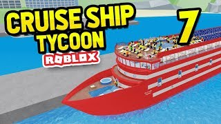 ADDING LUXURY UPGRADES - Roblox Cruise Ship Tycoon #7