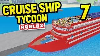 ADDING LUXURY UPGRADES - Roblox Cruise Ship Tycoon #7