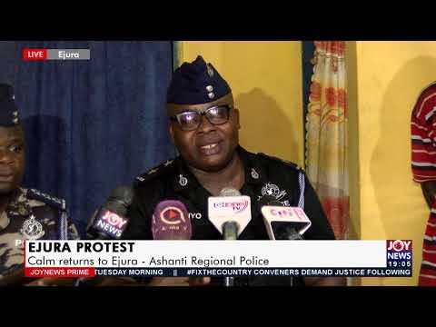 Ashanti Regional Police Command briefs media on incident - Joy News Prime (29-6-21)